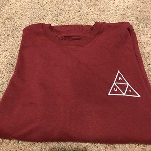 HUF Other - Men's Huf maroon T shirt