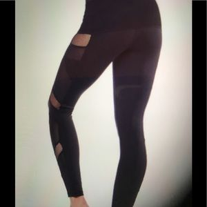 Electric Yoga Pants - Sexy Mesh Tight