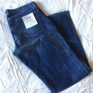 J.Crew Bootcut Blue Jeans 33R