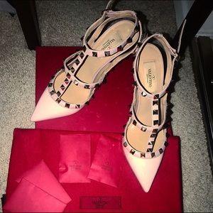 Valentino Shoes - Valentino rockstud pump 100mm