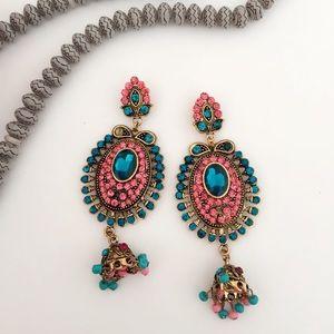 #B15 Antique Classy Dangle Earrings