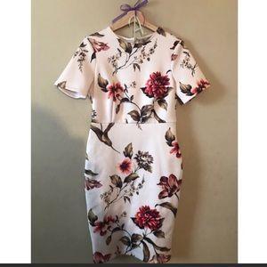 ASOS Dresses & Skirts - Asos floral white midi dress