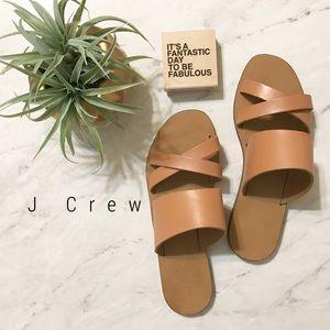 J. Crew Shoes - JCrew Bali Slides sandals