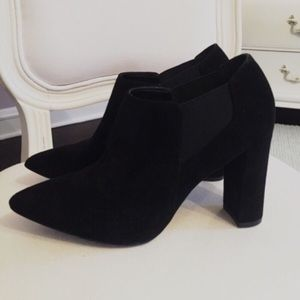 Marc Fisher Shoes - Black Ankle Booties