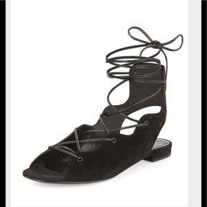 Saint Laurent Shoes - Authentic St Laurent lace up sandals