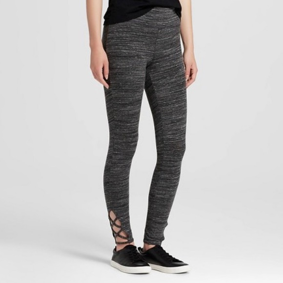 8e87741485 Mossimo Supply Co. Pants | Criss Cross Leggings Yoga Strappy ...