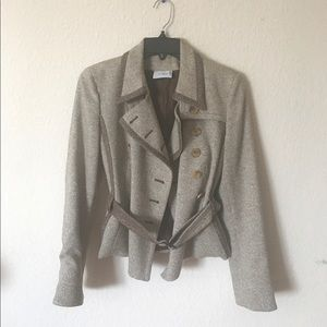 Akris Jackets & Blazers - Akris Punto Belted Double Breasted Peacoat Sz 4