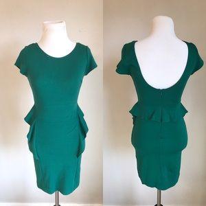 {Zara} Peplum Dress