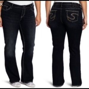 Silver Jeans Denim - Plus size Silver Jeans in Aiko style size 24