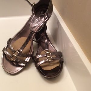 Enzo Angiolini Shoes - Enzo Angiolini  sandles new  size 9  bronze color