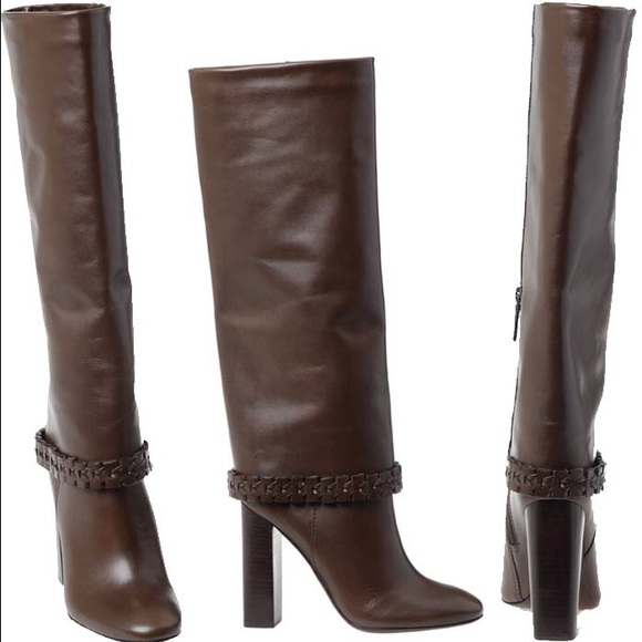 844acf89c028 NWOT Tory Burch Savara high heeled boots size 9.5.  M 58fd8dedeaf0303783120e87
