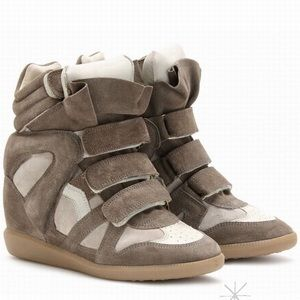 Isabel Marant - Beckett Wedge Sneakers