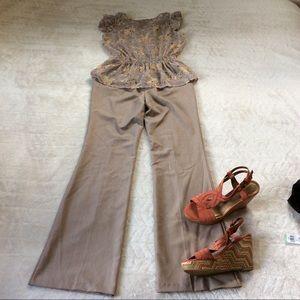 L.A.FIT Pants - LA FITS Dress Pants in Taupe Size 5