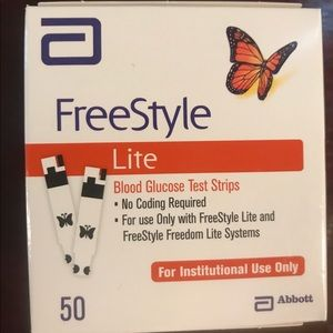 Freestyle Other - 9 boxes of Diabetic Freestyle Lite 50 Test Strip