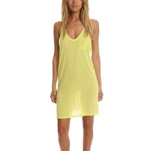 T by Alexander Wang Dresses & Skirts - T by Alexander Wang Yellow Racerback Dress