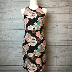 Muse Dresses & Skirts - Muse Halter Floral Silk Dress Size 4