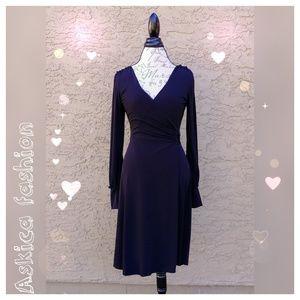 Studio M Dresses & Skirts - Studio M wrap black dress