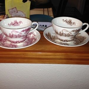Other - Vintage tea cup and saucer set