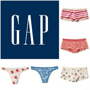 GAP Other - NWT Set of 5 GAP Panties & Thongs, Size: Large