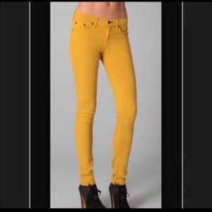 Rag And Bone Mustard Jeans