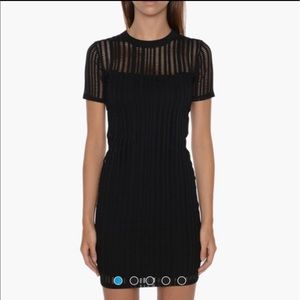 Brand new Alexander Wang fitted black dress