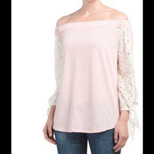 Liv Tops - Off shoulder top