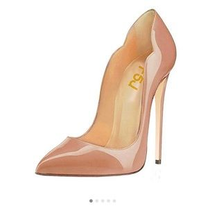 Nude Pointed Toe Stillettos