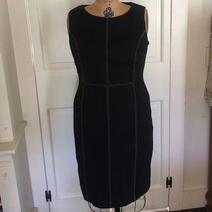Boden Sleeveless Black Dress