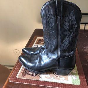Tony Lama Shoes - Size 6M Tony Lama Roper cowgirl boots (black)