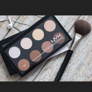 MAC Cosmetics Other - 💯🎉Nyx bundle Contour & highlight palette w/brush