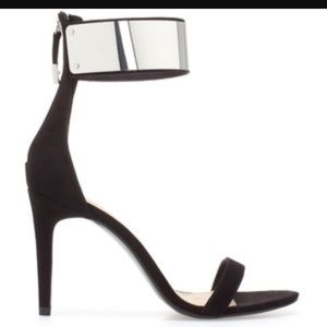 Zara high heel with ankle strap