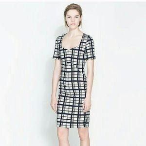 Zara Shift Midi Dress