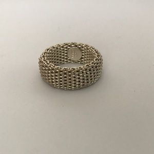 Jewelry - Sterling Silver Mesh Ring