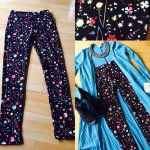 LuLaRoe Pants - LuLaRoe One size leggings- black w/red, white&blue