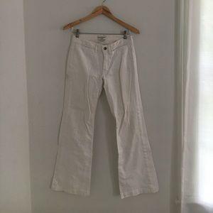 Banana Republic Denim - Banana Republic, Classic White Wide Leg Pants