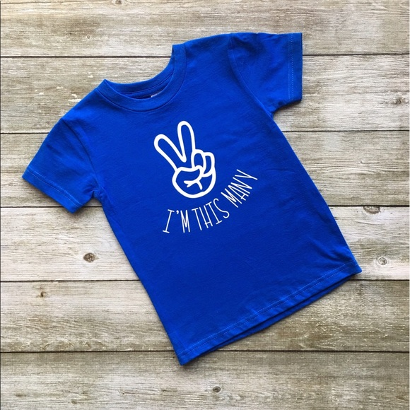 20 Off Other I 39 M This Many Toddler Tee Made To Order