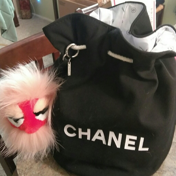 5a28de473a9cfe CHANEL Handbags - Chanel VIP Gift -Drawstring Bag XL Size