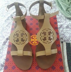 Tory Burch Shoes - Tory Burch Sandals, includes shoe box and dust bag