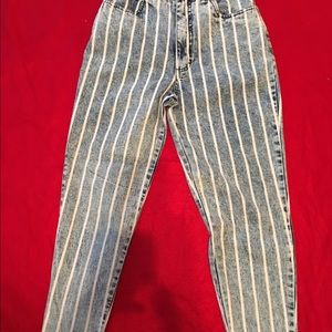 Me'r Wee International Denim - Size 9/10 by Me'r Wee . Boot Cut Stonewashed Jeans