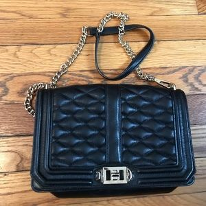 Rebecca Minkoff Handbags - Black Rebecca Minkoff quilted bag
