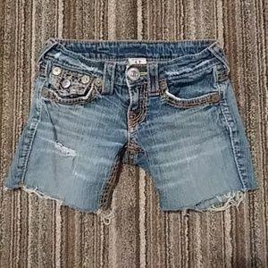 True Religion Pants - True Religion Joey Big T RARE Triple Stitch Shorts