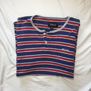 Brixton Other - Men's Striped Brixton Tee