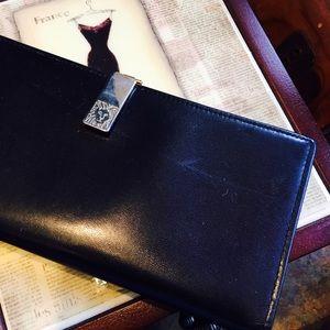 Anne Klein Handbags - Anne  Klein black wallet