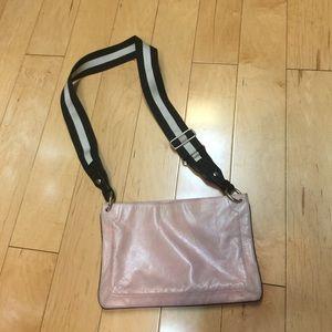 Bally Handbags - Bally purse bag cross body guitar strap leather