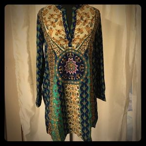 Beautiful tunic dress. Sz Med NWOT