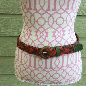 Accessories - Braided Leather Belt