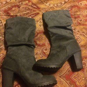 Merona suede boots (6)