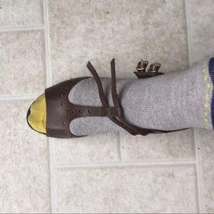 Brown Sandals Brand New