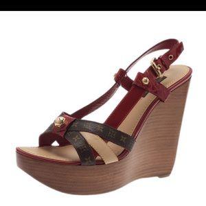 Louis Vuitton Shoes - Louis Vuitton wedge