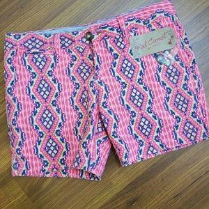 Red Camel Pants - Shorts